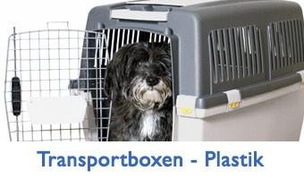 Hundetransportbox – Plastik