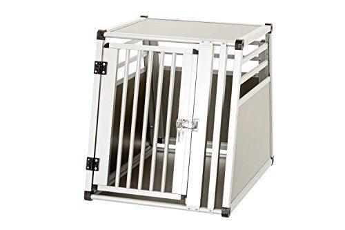 Karlie Hundetransportbox aus Aluminium, 82 x 65 x 66 cm