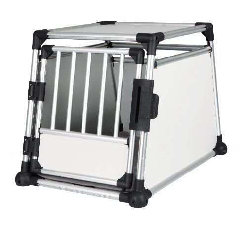 Trixie 39342 Hundetransportbox aus Aluminium